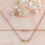 Náramok a náhrdelník topáz